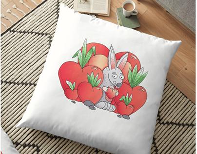Happy Valentine's bunny!