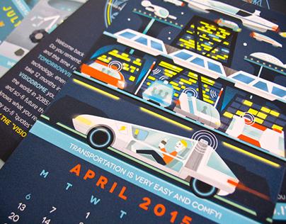 TOMORROWVILLE EXPO 2015 Calendar