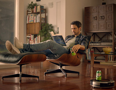"Canada Dry ""Relax Harder"" Ad Campaign Launch Website"