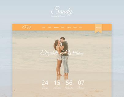 Sandy WordPress Theme