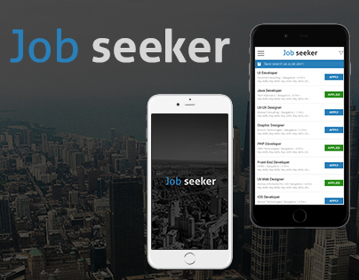 Job Seeker Mobile Application for Android & IOS