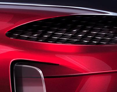 Maserati White Noise Concept