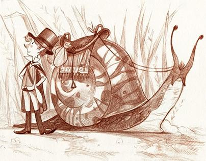 Never ending Story Illustrations