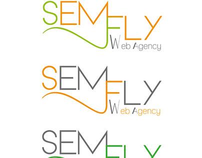 SemFly web agency logo proposal
