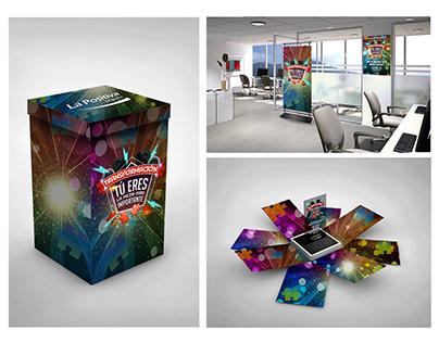 Diseños / Key Visuals / BTL Events / Graphic pieces.