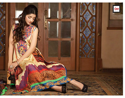 "'Noori Art"" for LSM SILK COLLECTION (LSM Fabrics)"