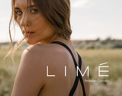 LIME - Online store redesign concept