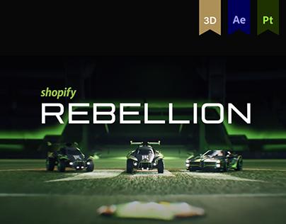 Shopify Rebellion - Rocket League Announcement