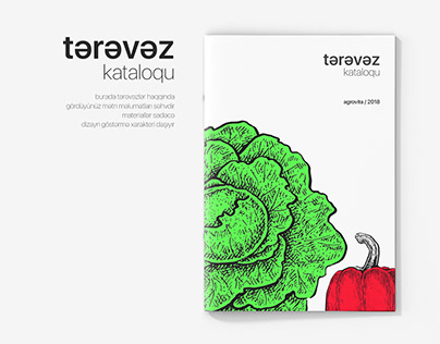 Vegetable Catalog Design
