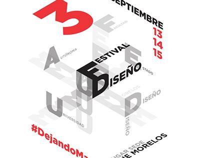 3er Festival de Diseño UAEM