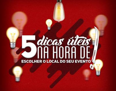5 DICAS ÚTEIS - EMPIRE PRODUCTIONS (São José, SC)