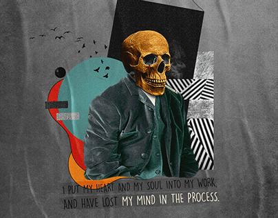 Lost My Mind   Collage Art