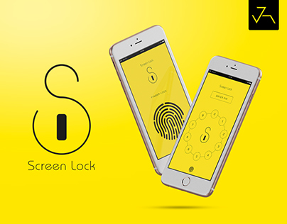 Screen Lock App UI/UX - Jensonart
