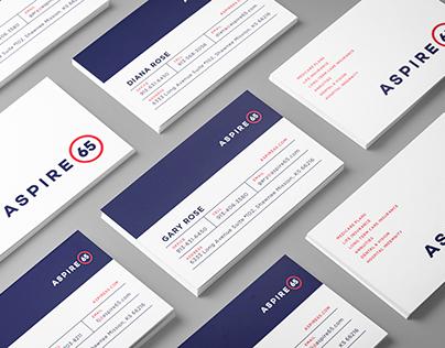 Aspire65 Website & Identity
