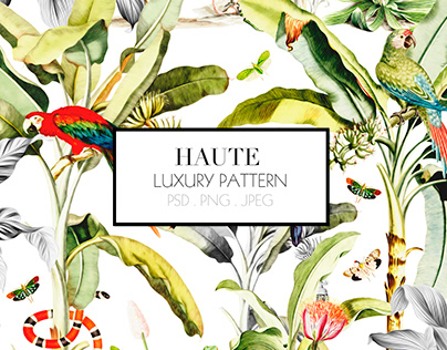 HAUTE, Luxury Pattern