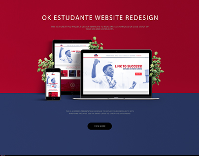 OK Estudante website redesign