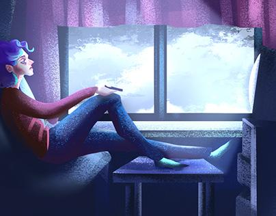 The Seasonal Depression - 2d animation