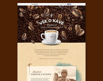 Website design for Seznam Native - DeLonghi