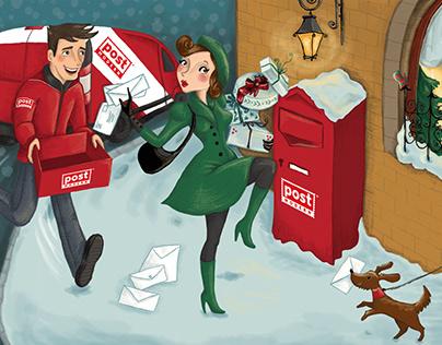 Advent calendar for Mail Service Provider