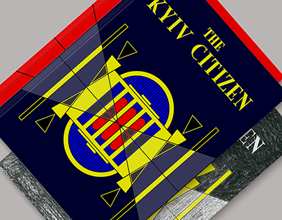 The Kyiv Citizen. Magazine covers.