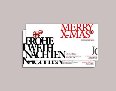 Typographic Invitations