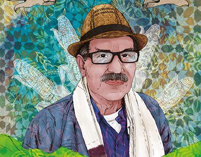 Chucho minga, Ilustración contraportada para periódico