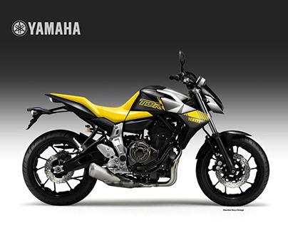 YAMAHA TDR 700