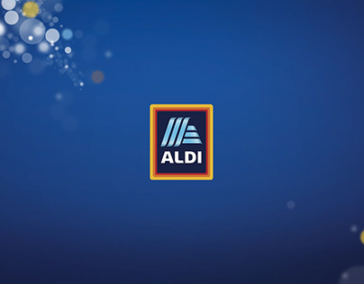 ALDI animation for social AD - Christmas and New year.