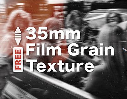FREE 35mm Film Grain Texture