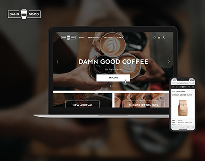 Damn good coffee online shop