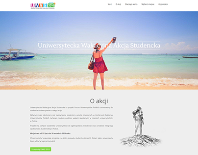 uwas.edu.pl Web design