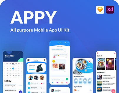 Appy Mobile UI Kit