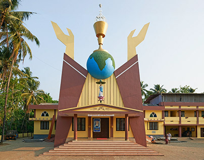 Hybrid Modernism. Churches in South India