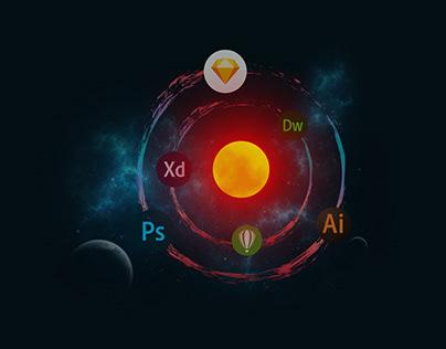 Design Planets - GIF