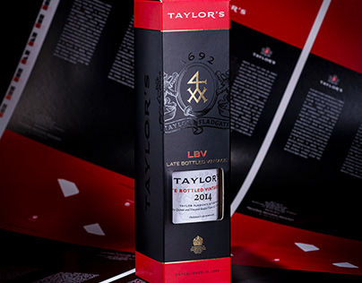 Taylor's LBV Packaging