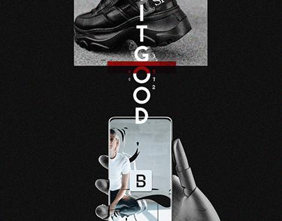 E-commerce shoe company // Graphics