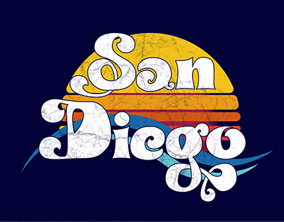San Diego Graphic Logo