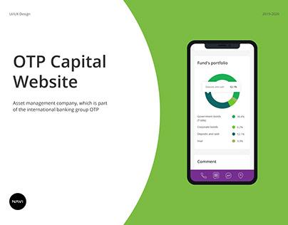 OTP Capital website