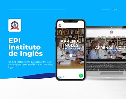 institutoepi.com | Diseño UX/UI