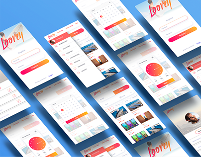 Loorey app - UX UI