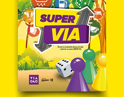 Super VIA - Jogo de tabuleiro