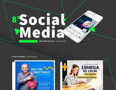 Social Media - FastSignal Provedor de internet.