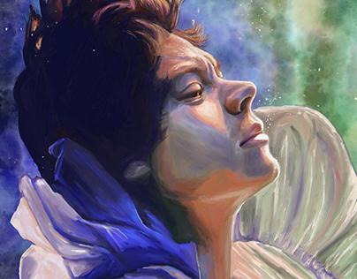 Harry Styles - Falling -by Teresa McDougal Art