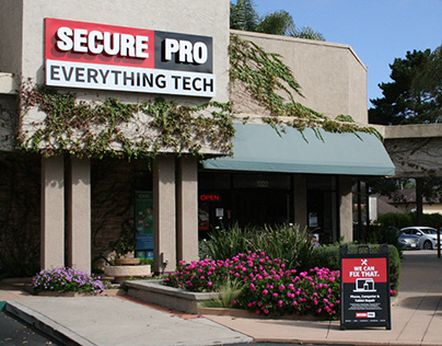 SecurePRO Brand Design