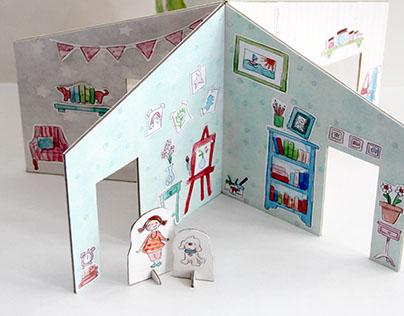 Peel & Stick Play House