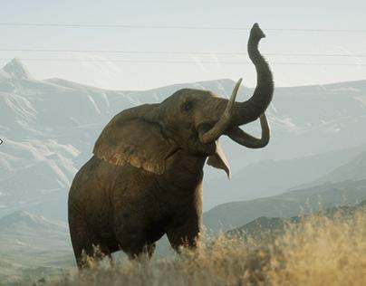 Elephant Unreal