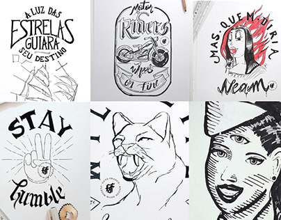 Hand made illustrations