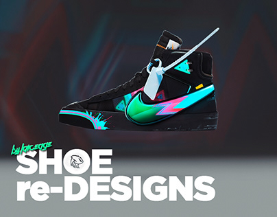 Edited shoe concepts( Shoe redesigns)