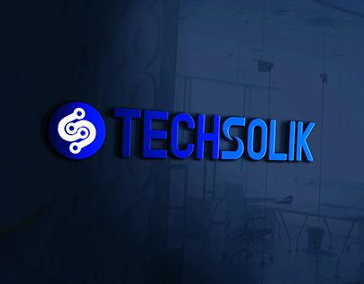 TechSolik Logo Designed By ACM