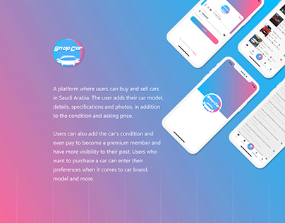 Snap Car mobile application
